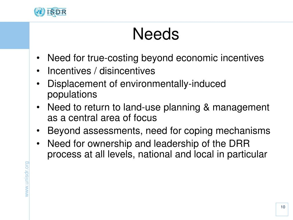Need for true-costing beyond economic incentives