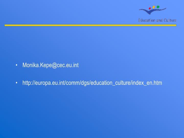 Monika.Kepe@cec.eu.int