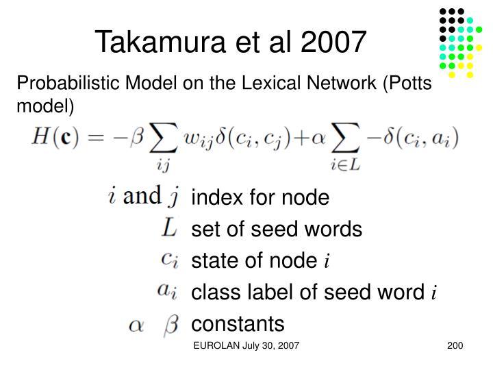 Takamura et al 2007