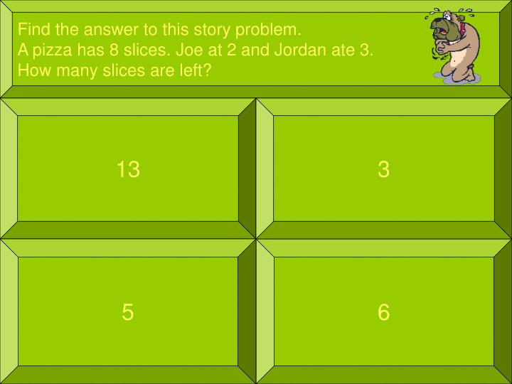 Find the answer to this story problem.