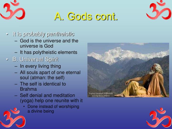 A. Gods cont.