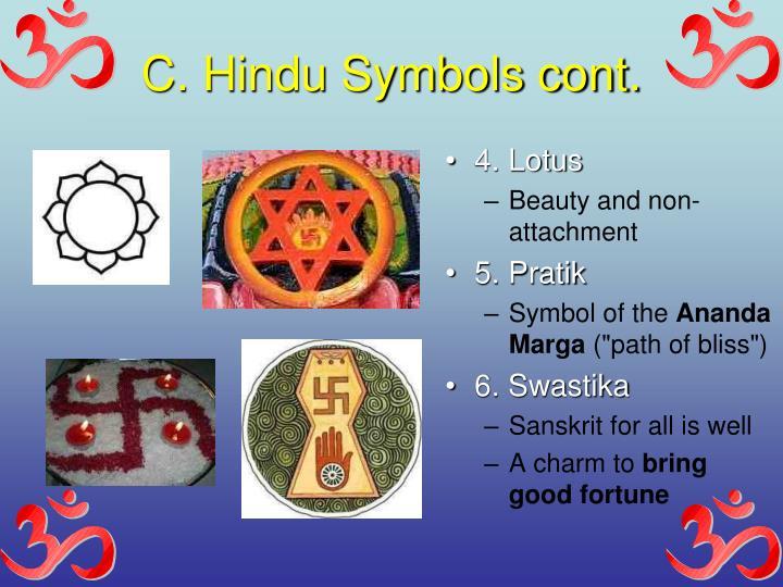 C. Hindu Symbols cont.