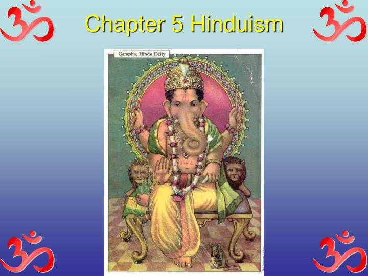 Chapter 5 Hinduism