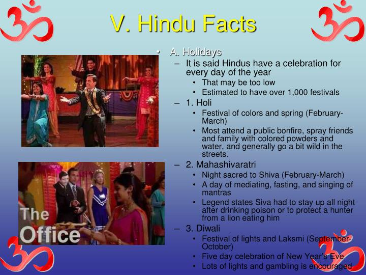 V. Hindu Facts