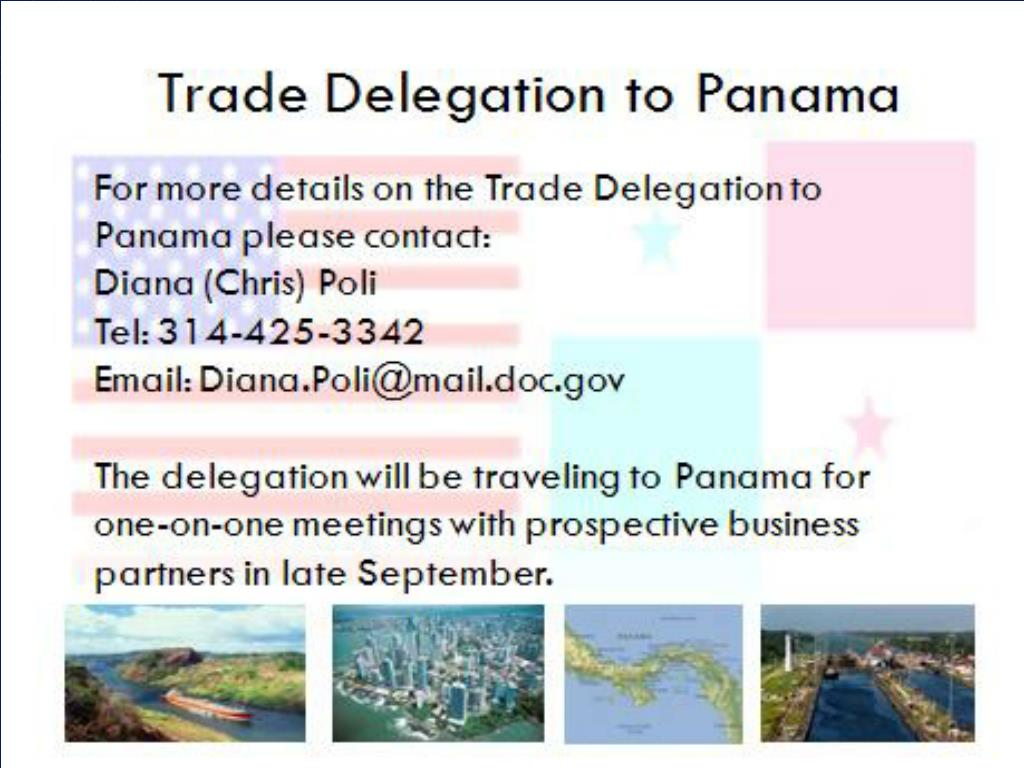 Trade Delegation to