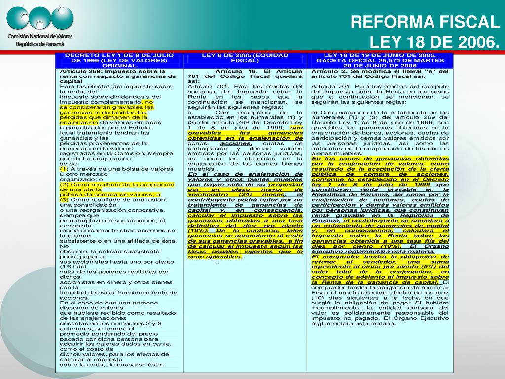 REFORMA FISCAL