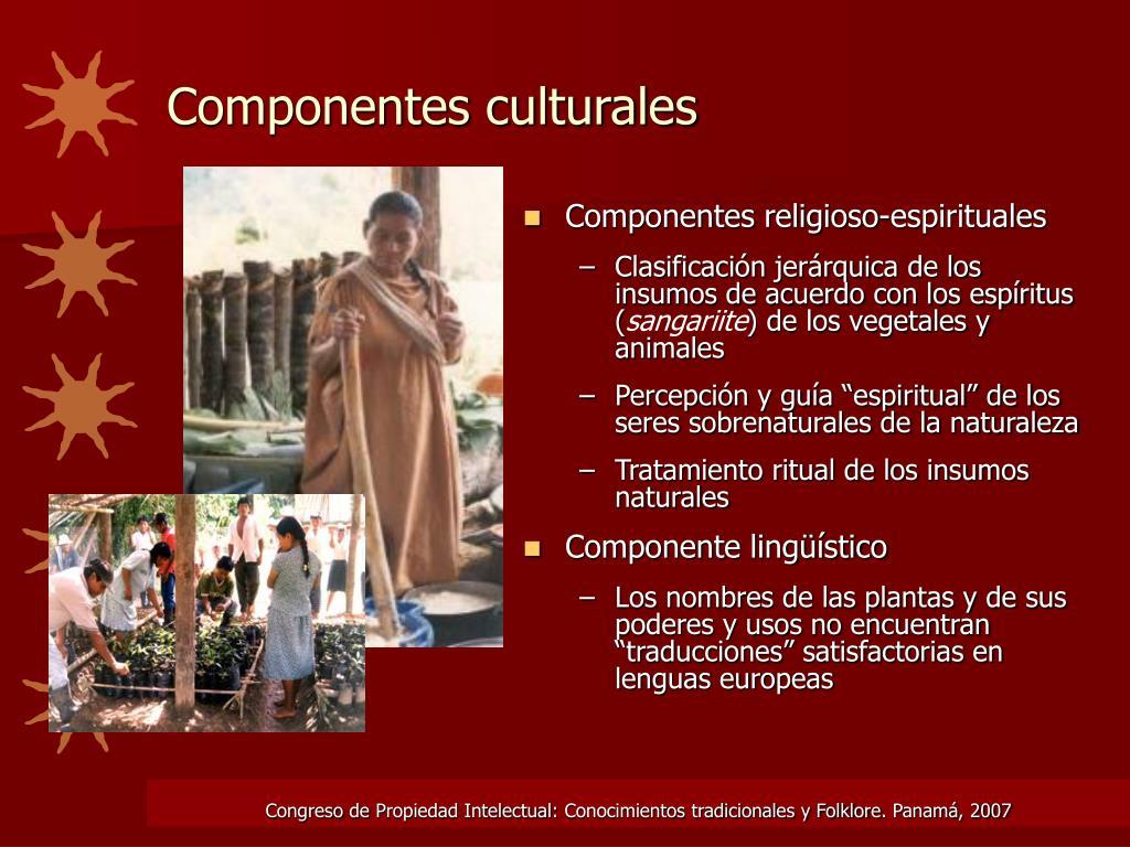 Componentes religioso-espirituales