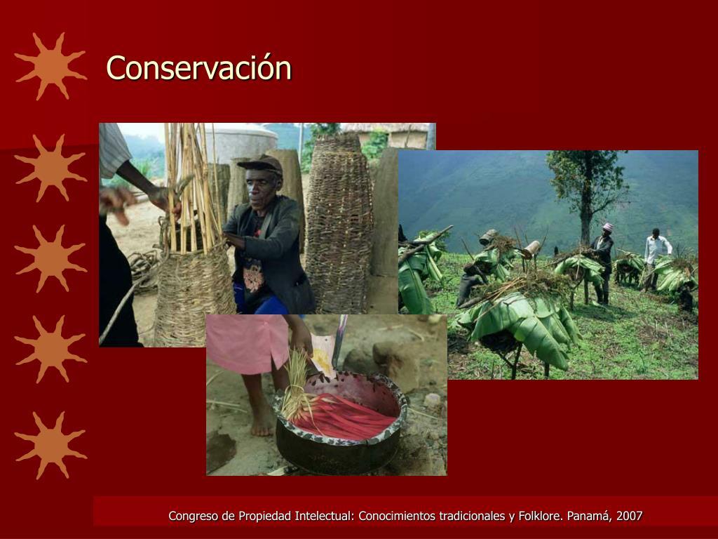 Conservación