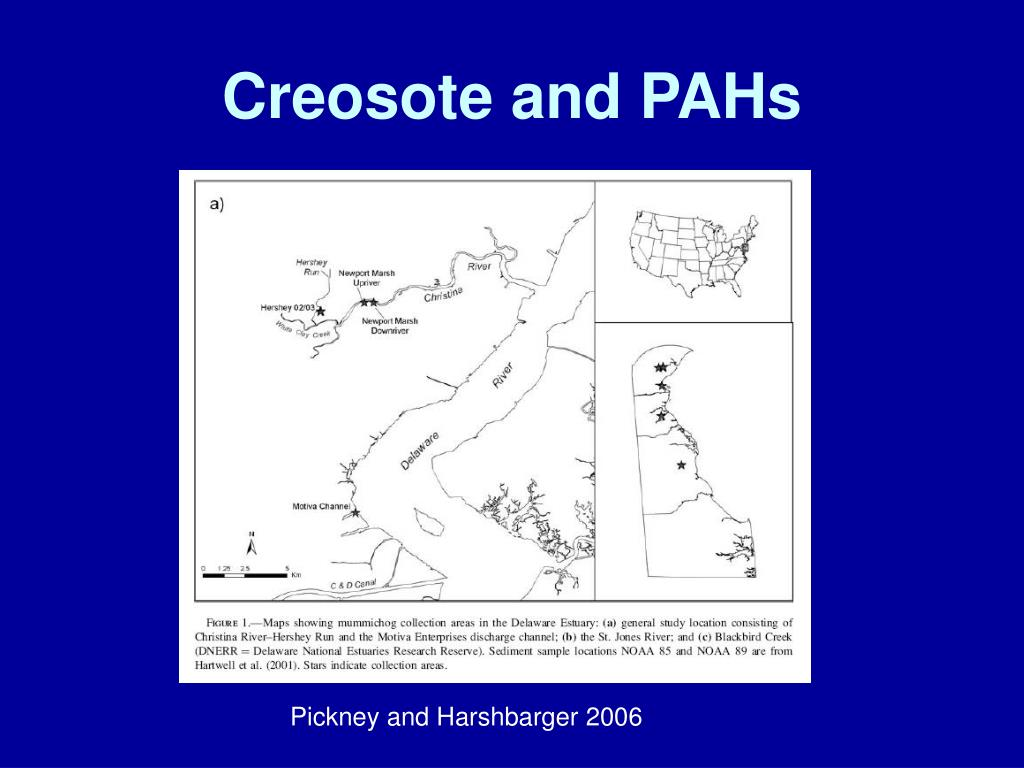 Creosote and PAHs