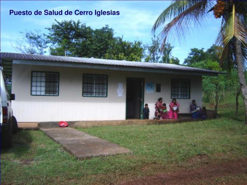 Puesto de Salud de Cerro Iglesias