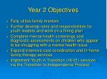 year 2 objectives1