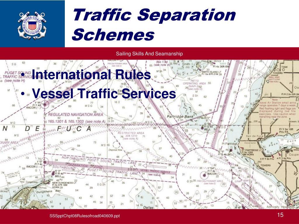 Traffic Separation Schemes