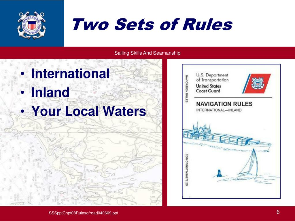 Two Sets of Rules