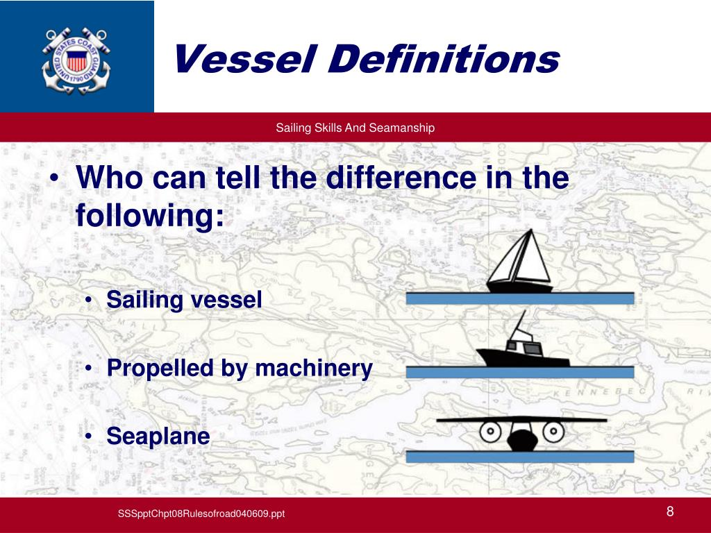 Vessel Definitions