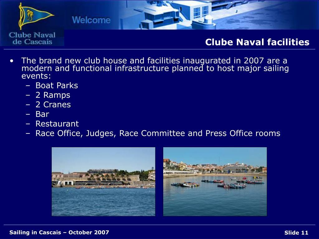 Clube Naval facilities