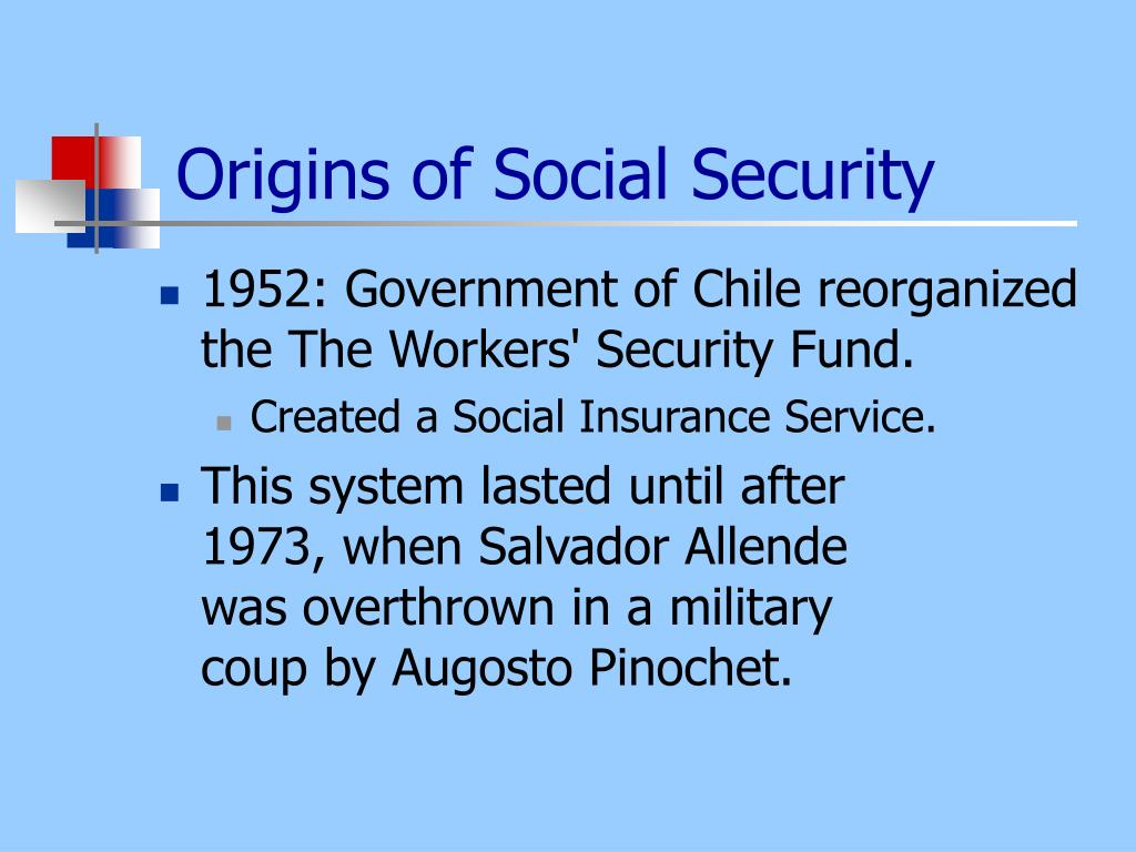 Origins of Social Security