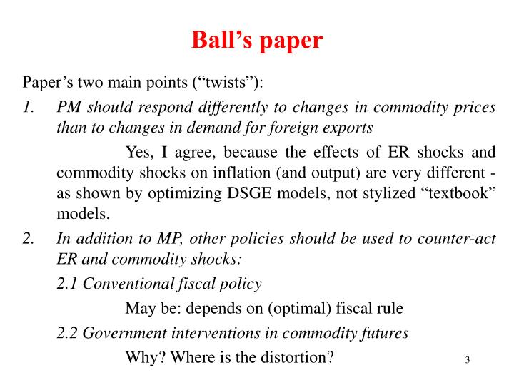 Ball s paper