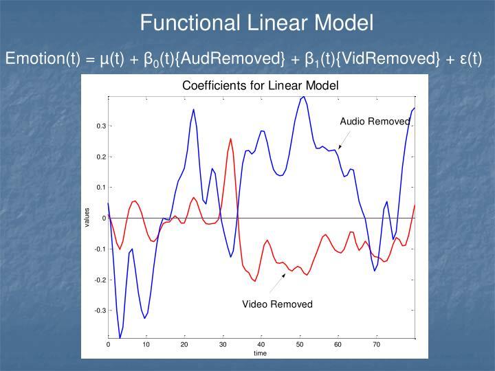 Functional Linear Model