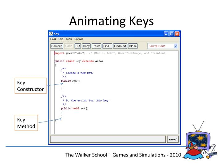 Animating Keys