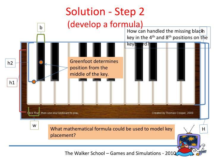 Solution - Step 2