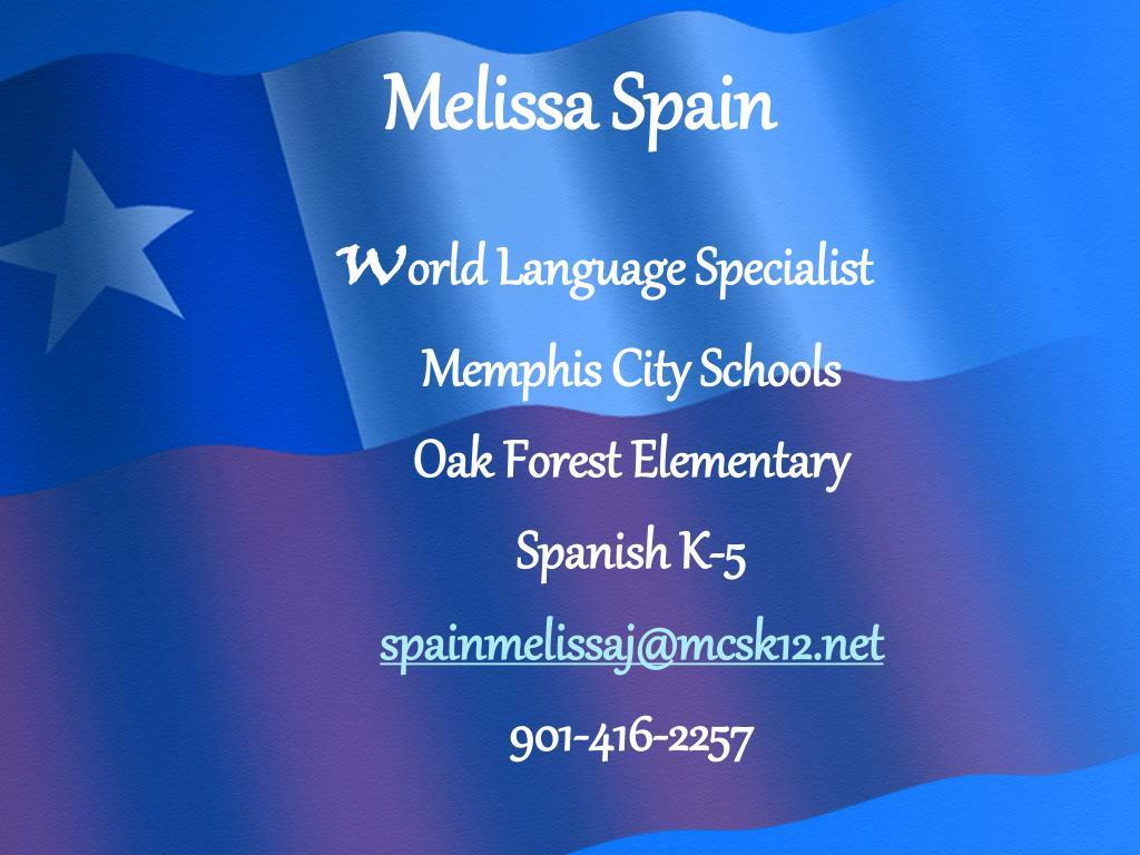 Melissa Spain
