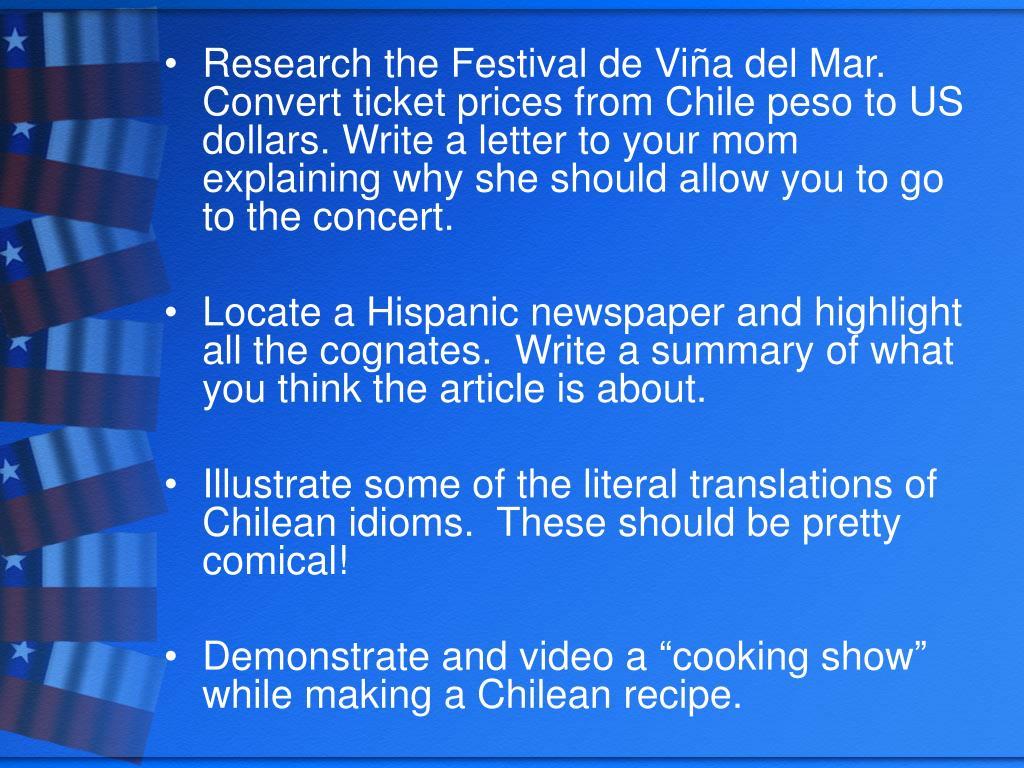 Research the Festival de Vi