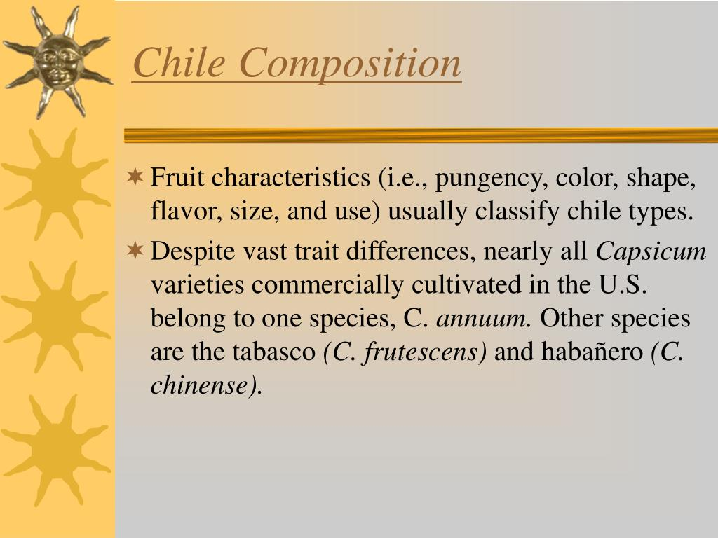 Chile Composition