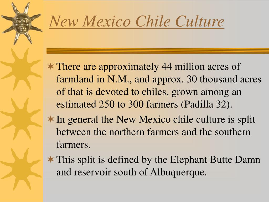 New Mexico Chile Culture