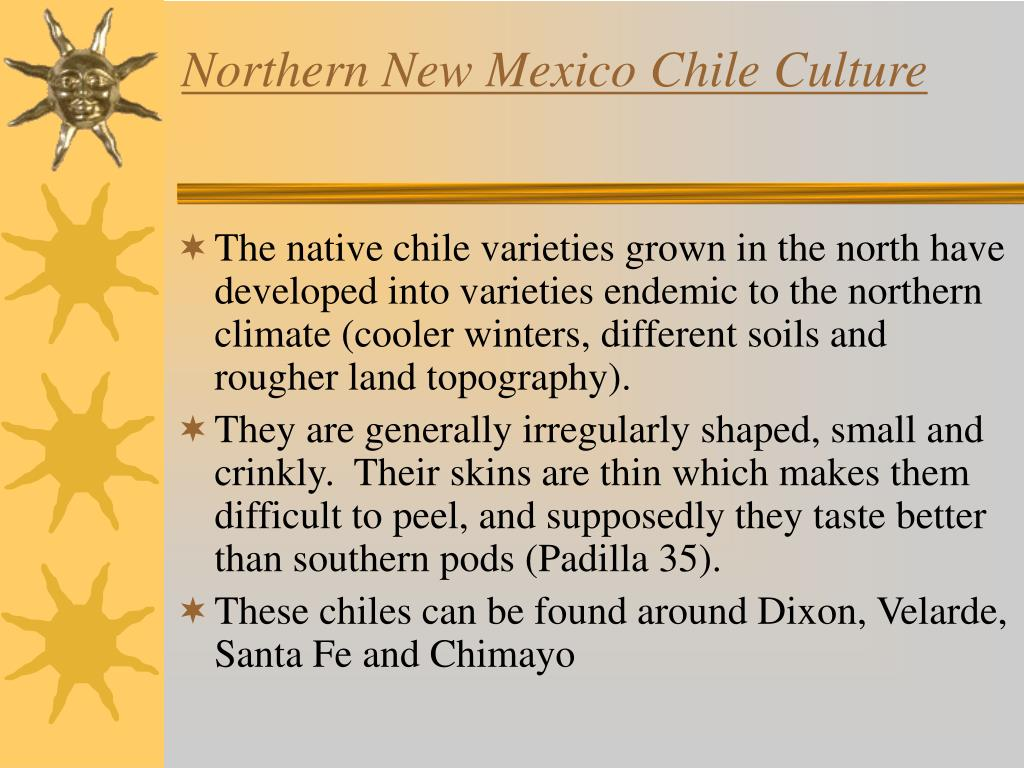 Northern New Mexico Chile Culture