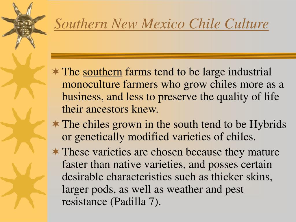 Southern New Mexico Chile Culture