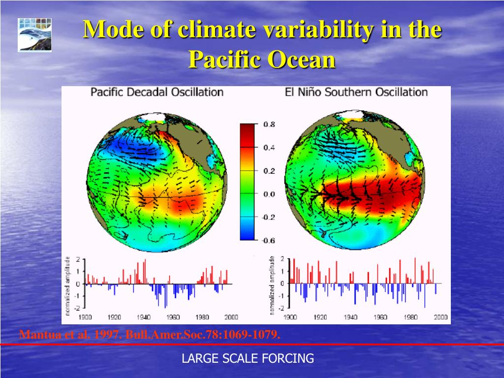 Mode of climate variability in the Pacific Ocean