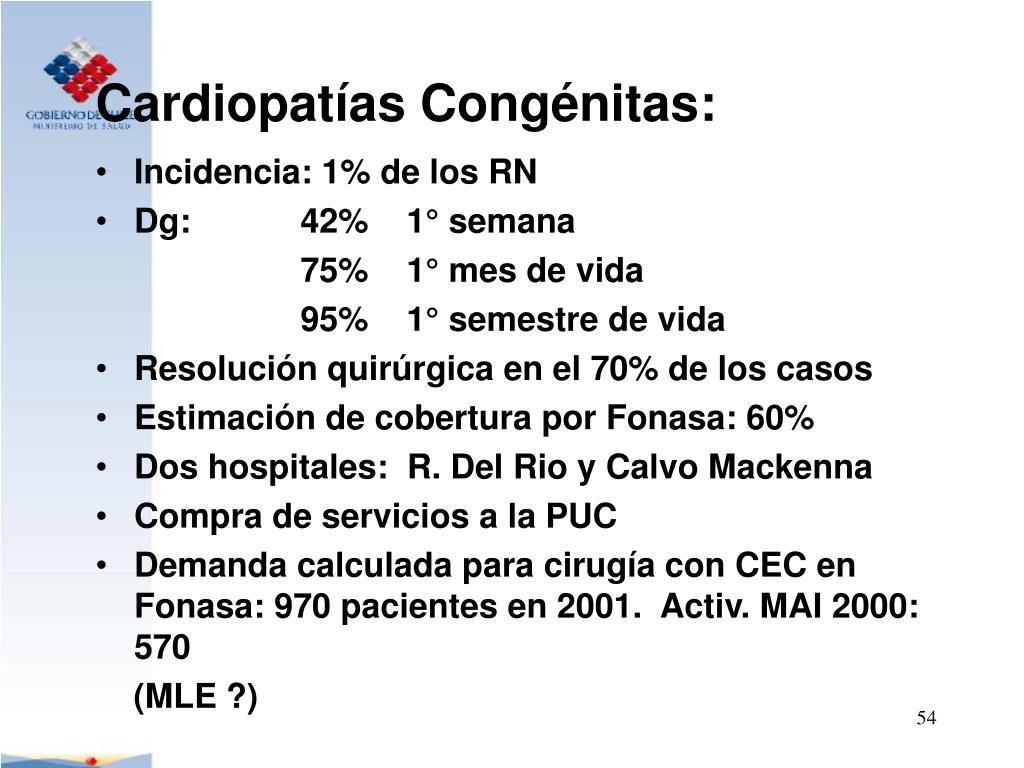 Cardiopatías Congénitas: