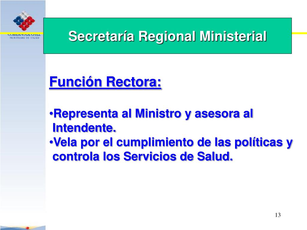 Secretaría Regional Ministerial