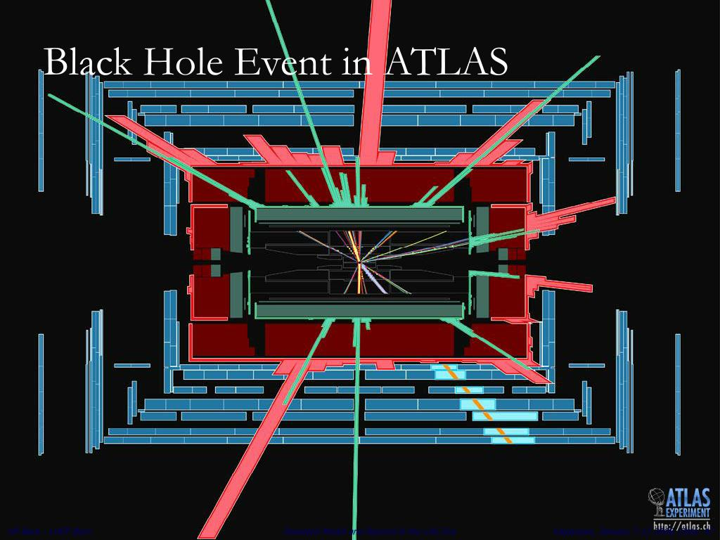 Black Hole Event in ATLAS