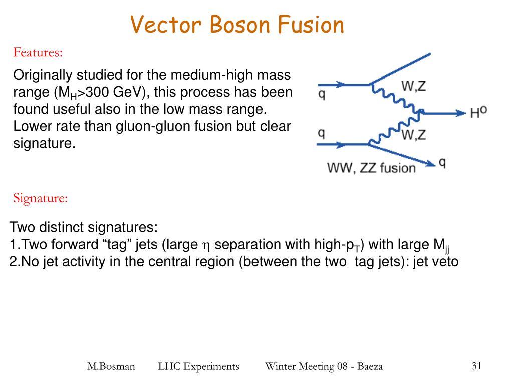 Vector Boson Fusion