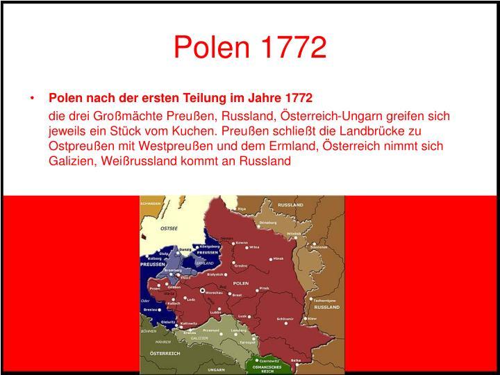 Polen 1772