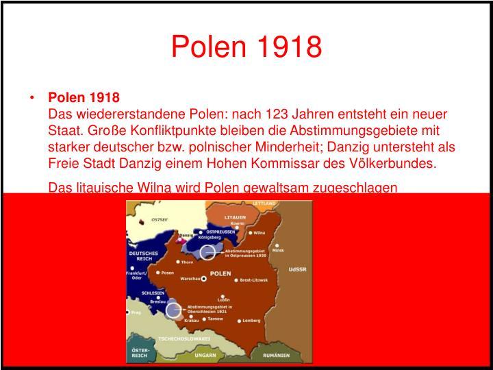 Polen 1918