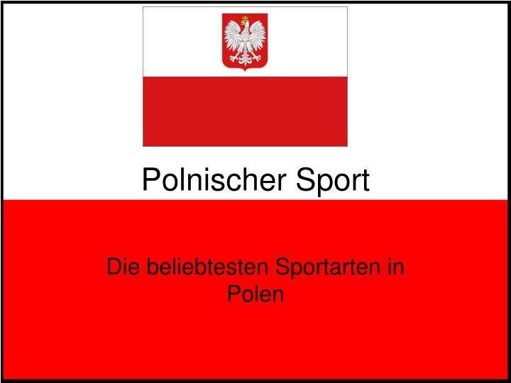 Polnischer Sport