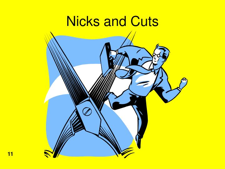 Nicks and Cuts