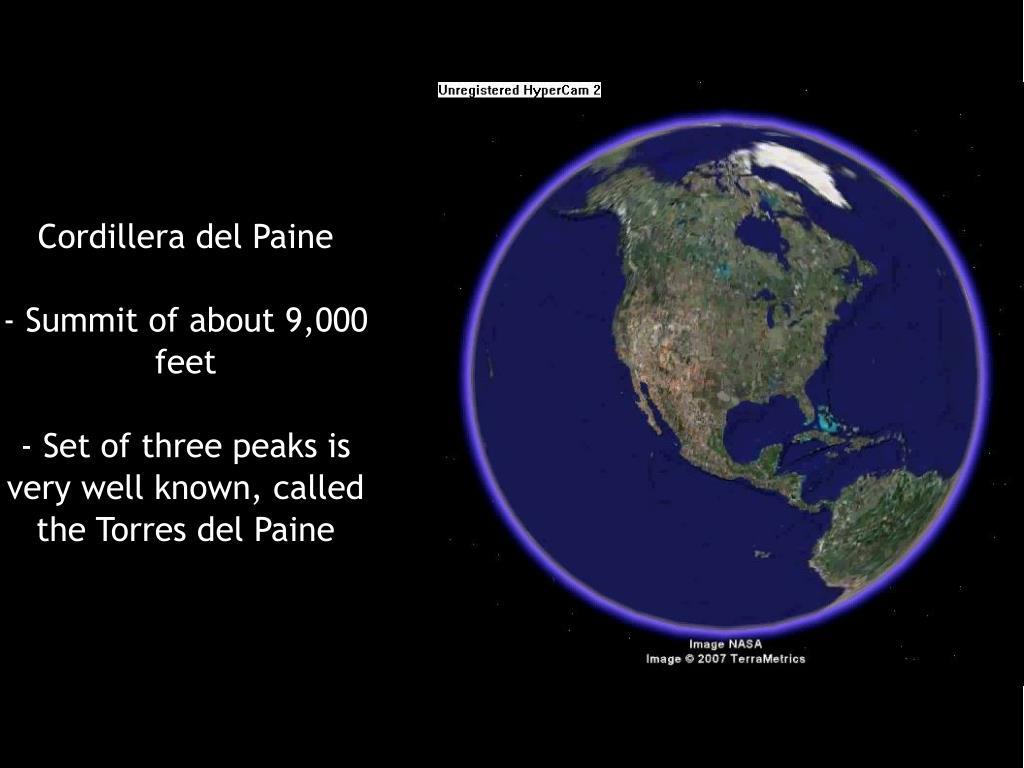Cordillera del Paine