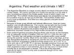 argentina past weather and climate i met