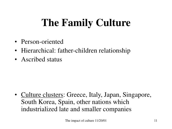 The Family Culture