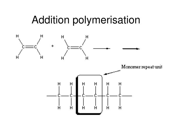 Addition polymerisation