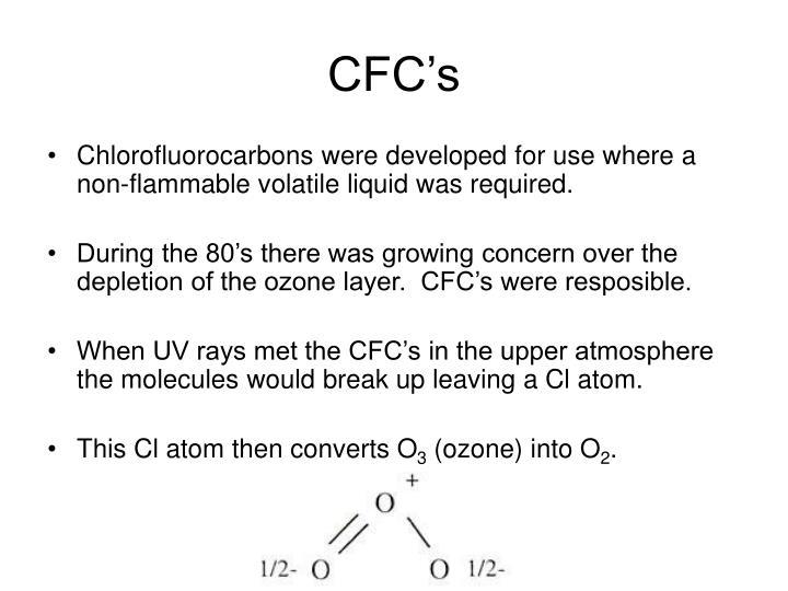 CFC's