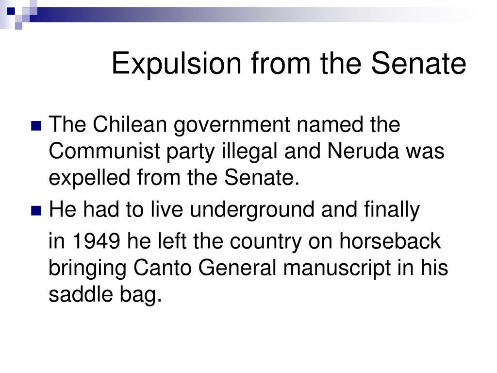 Expulsion from the Senate