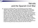 neruda and the spanish civil war