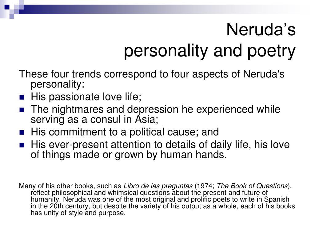 Neruda's