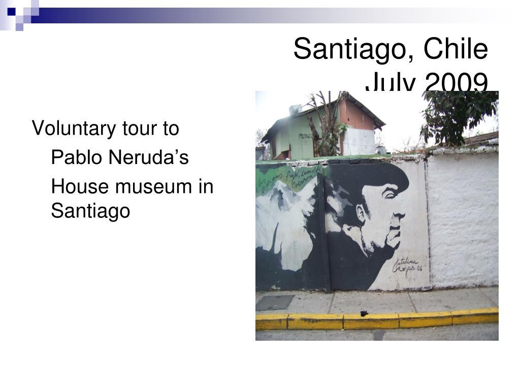 Voluntary tour to