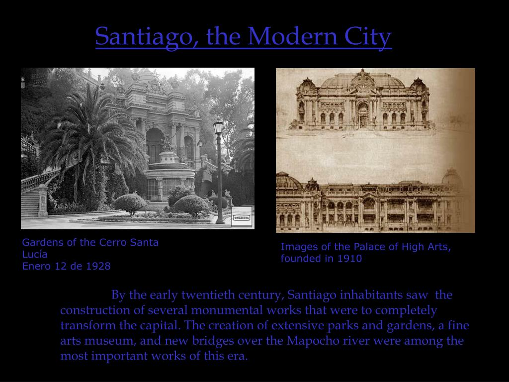Santiago, the Modern City