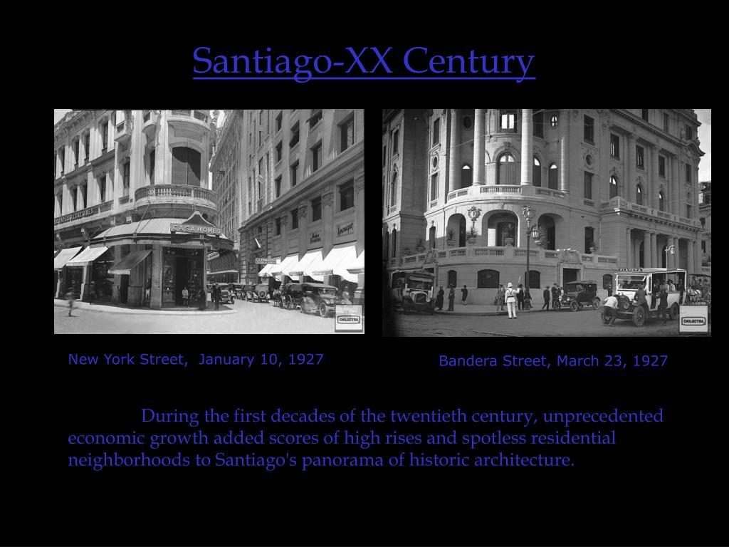 Santiago-XX Century